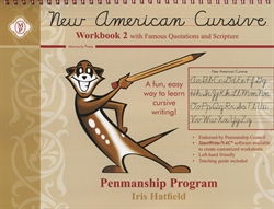 New American Cursive 2 with Famous Quotations & Scripture