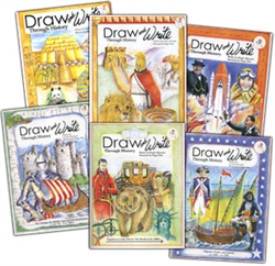 Draw & Write Through History - Six Book Set