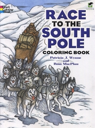 Race to the South Pole - Coloring Book