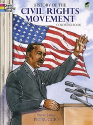 History of the Civil Rights Movement - Coloring Book