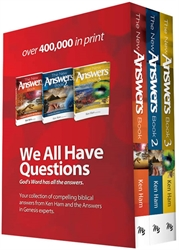 New Answers Book - 3-volume set