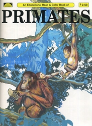 Primates - Coloring Book