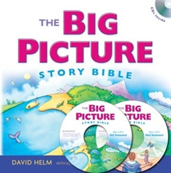 Big Picture Story Bible with 2 CD's
