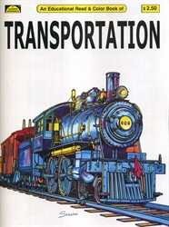 Transportation - Coloring Book