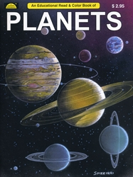 Planets - Coloring Book
