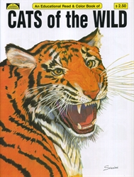Cats of the Wild - Coloring Book