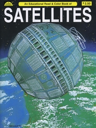 Satellites - Coloring Book