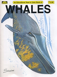 Whales - Coloring Book