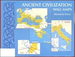 Ancient Civilization Wall Maps (Small)