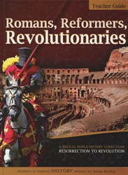 Romans, Reformers, Revolutionaries - Teacher Guide