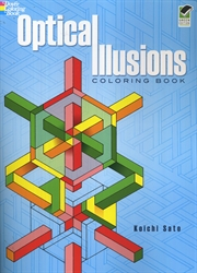 Optical Illusions - Coloring Book