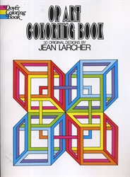 Op Art - Coloring Book