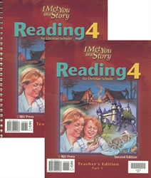 Reading 4 - Teacher Edition Set (old)