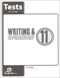 Writing & Grammar 11 - Tests