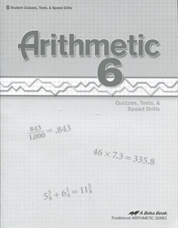Arithmetic 6 - Tests/Speed Drills