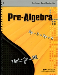 Pre-Algebra - Curriculum and Solution Key