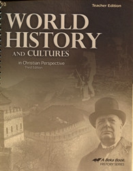 World History and Cultures - Teacher Guide