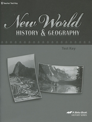New World History & Geography - Test Key