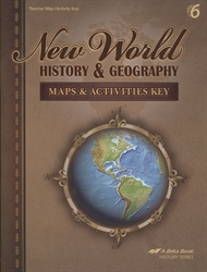 New World History & Geography - Maps & Activities Key