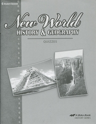 New World History & Geography - Quiz Book