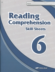 Read & Think 6 Skill Sheets