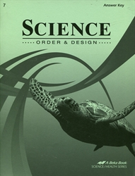 Science: Order & Design - Answer Key