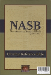 NASB Ultrathin Reference Bible