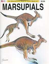 Marsupials - Coloring Book