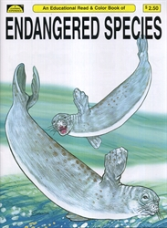 Endangered Species - Coloring Book