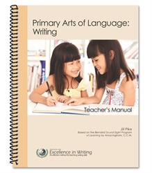 Primary Arts of Language: Writing Teacher's Manual