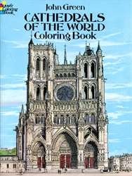Cathedrals of the World - Coloring Book