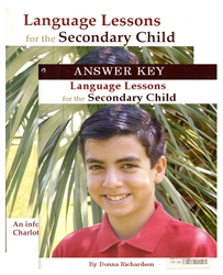 Language Lessons for the Secondary Child 1 - Set