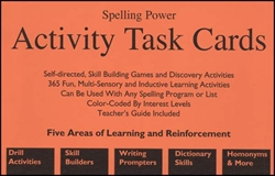 Spelling Power - Activity Task Cards