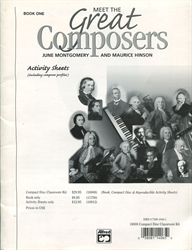 Meet The Great Composers Book 1: Classroom Kit