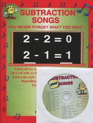 Subtraction Songs with CD