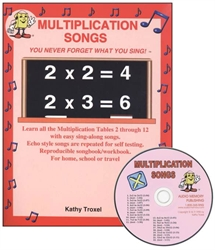 Multiplication Songs with CD