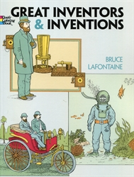 Great Inventors and Inventions - Coloring Book