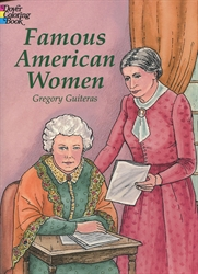 Famous American Women - Coloring Book