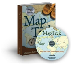 MapTrek - Book with CD-ROM