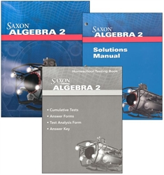 Saxon Algebra 2 - Home School Package