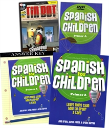 Spanish for Children A - Package