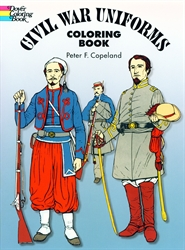 Civil War Uniforms - Coloring Book