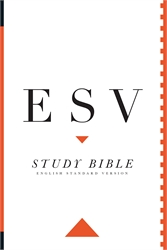 ESV Study Bible Large Print - Hardcover Edition