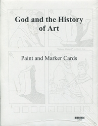 God & the History of Art - Paint & Marker Cards