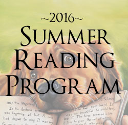 2016 Reading Program Signup