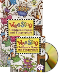Wee Sing Children's Songs and Fingerplays - Book & CD