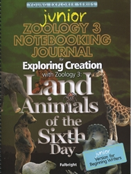 Exploring Creation With Zoology 3 - Junior Notebooking Journal
