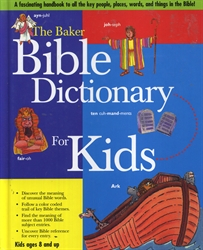 Baker Bible Dictionary for Kids