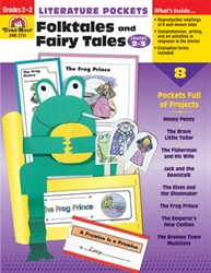 Literature Pockets: Folktales and Fairy Tales 2-3