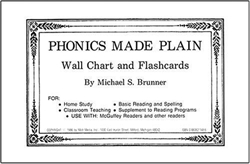 Phonics Made Plain - Wall Chart and Flashcards